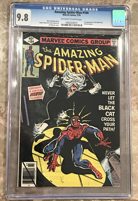 Amazing Spider-Man #194 CGC 9.8 - Marvel Comics 1st Appearance of the Black Cat
