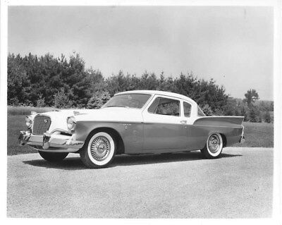 1957 Studebaker Silver Hawk ORIGINAL Factory Photo oub8760