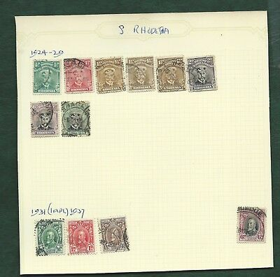 Seychelles Rhodesia Ascension Island MH and used old stamps and 2 covers Birds