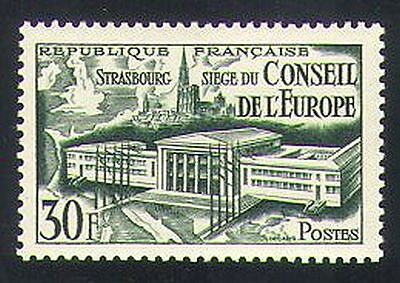 140 france 1952 council of europe assemby strasbourg for Architects council of europe