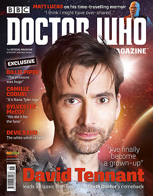 Doctor Who Magazine Dec 2017 #518 David Tennant Cover Exclusive Interview
