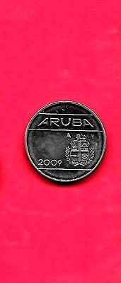 Aruba Km2 2009 Xf-Super Fine-Nice Excellent Modern Circulated 10 Cents Coin