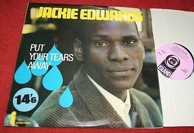 Jackie Edwards Put Your Tears Away Island Records Iwps 4 Uk Lp