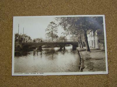 1900s Postcard North Bridge & River,Colchester,Essex.