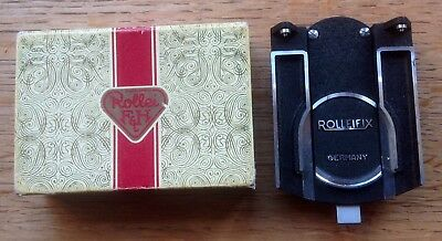 Old c1950s ROLLEIFIX quick release tripod plate attachment, Made in Germany, box