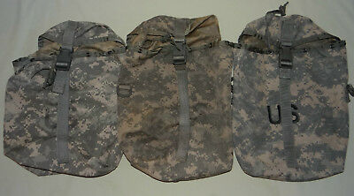 3ea Sustainment Pouch, Molle II ACU, Military Issue, GOOD
