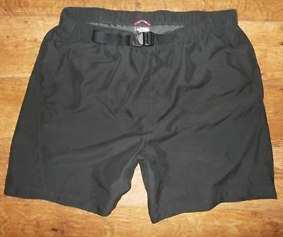 The North Face Mens Black Shorts Walking Hiking Size Large To Fit Waist 34 - 36
