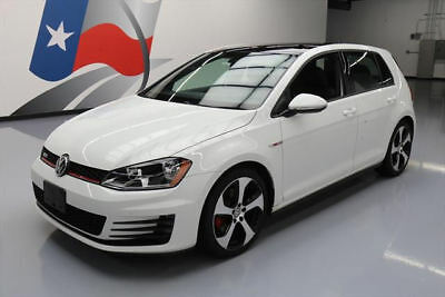 2015 Volkswagen Golf  2015 VOLKSWAGEN GTI SE 6-SPEED HTD LEATHER SUNROOF 9K #000870 Texas Direct Auto