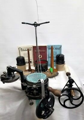 Great Legare Sock Knitting Machine 2 Cylinder 54 & 72 1Ribber 36 New Needles Csm
