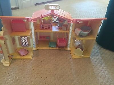 My Little Pony LULLABY NURSERY DOLL HOUSE Playset AS-IS vintage