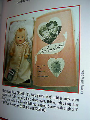"""Super RARE, """"I Love LUCY Baby"""", 16"""" doll by American Character 1952 all original"""