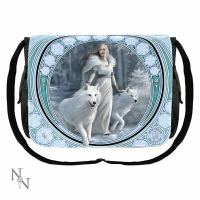 Nemesis Now - Winter Guardians Messenger Bag by Anne Stokes