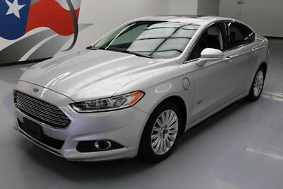 2014 Ford Fusion Energi SE Luxury Sedan 4-Door 2014 FORD FUSION ENERGI SE HYBRID SUNROOF NAV 37K MILES #182836 Texas Direct