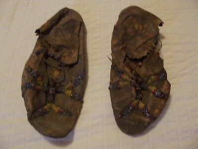 6. Sioux Beaded Moccasins. Circa 1900.