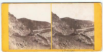 Stereoview By B Gooch Weston Super Mare - No 15 Lime Rock At Uphill Somerset
