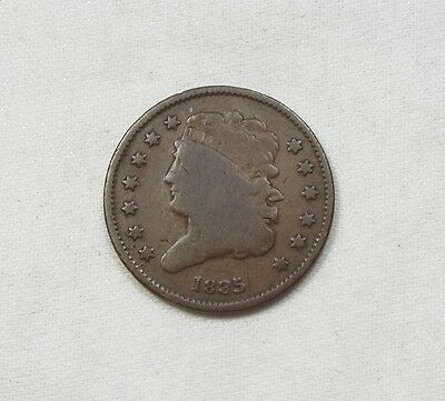 1835 Classic Head Half Cent VERY GOOD