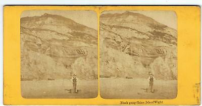 Stereoview Blackgang Chine Isle Of Wight