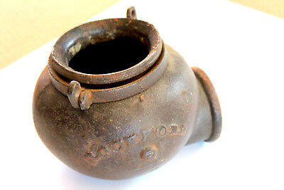 BOWL FOR A  ANTIQUE HAND WATER PUMP Water Well Pump Diverter Cup  Rockford ILL.