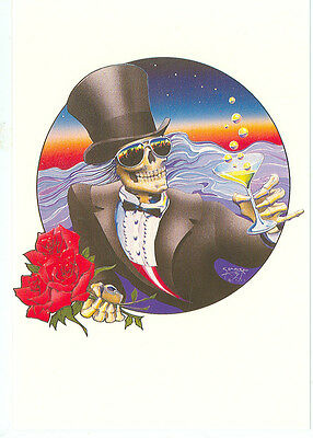 "One More Saturday Night-Stanley Mouse-4""x6"" Postcard(Et-158*)Grateful Dead"