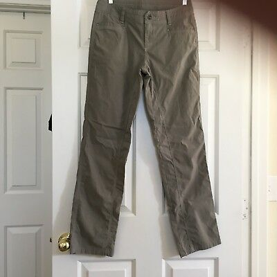 Womens Kuhl Pants 10 Reg Outdoors Activities Fitness Vintage Patinadye Nice Dry