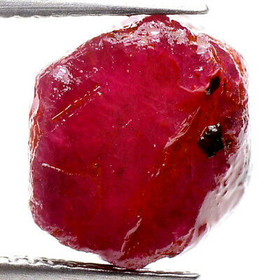 UNHEATED! 15.15ct NATURAL100% UNHEATED RUBY ROUGH SPECIMEN NR!