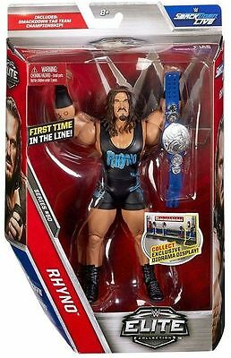 Mattel WWE Elite Series 50 Rhyno Action Figure