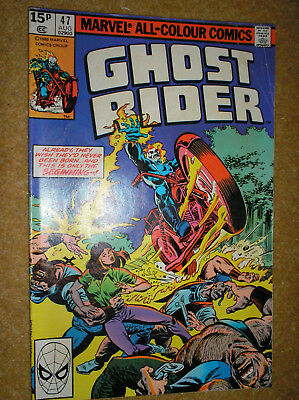 Ghost Rider # 47 Mike Fleisher Don Perlin Variant Bronze Age Marvel Comic Book