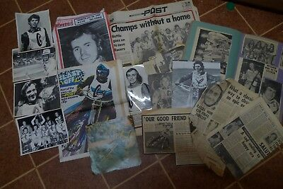 Reading Speedway Scrap Book,photo's And Cuttings 1971-73