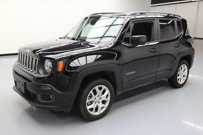 2016 Jeep Renegade  2016 JEEP RENEGADE LATITUDE 2.4L 4X4 REARCAM ALLOYS 18K #C93020 Texas Direct