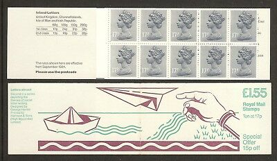 GB Stamps: Decimal Machin Folded Booklet FT2A.