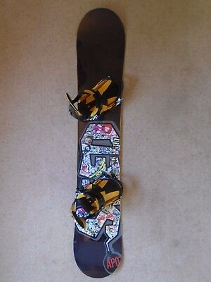 Seed Apo' Snowboard Complete With Bindings Excellent Condition