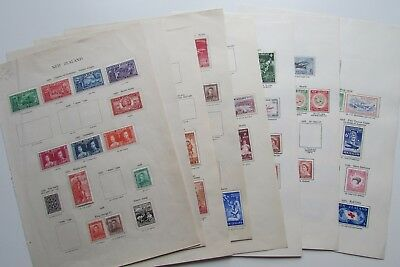 XL2839: Extensive Collection New Zealand Stamps (1936 - 59).