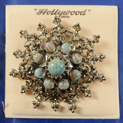 Stunning Vintage 1950S Hollywood Brooch Never Worn