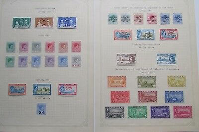 XL2862: Collection of Bahamas Stamps (1937 - 48).