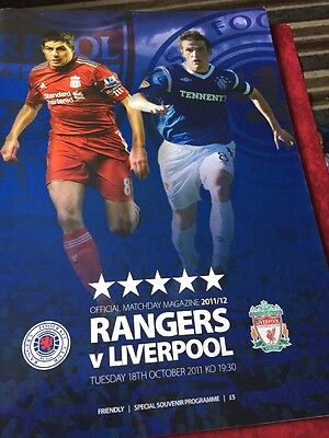 Rangers V Liverpool 18th October 2011
