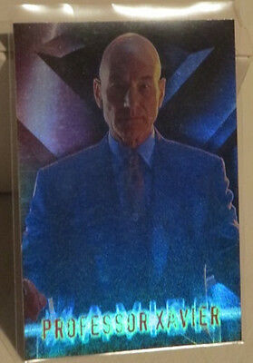 marvel X MEN 1 FOIL special CARD 1 of 10 Professon Xavier Patrick Stewart