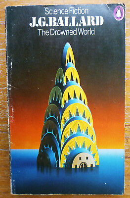 J G Ballard THE DROWNED WORLD 1974 PB Classic Vintage SF