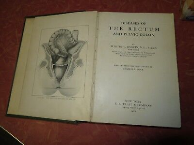 1916 Diseases of The Rectum and Pelvic Colon - Illustrated