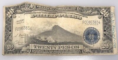 MUST SELL 1944 Philippines Victory 20 Pesos