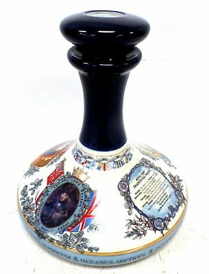 WADE Ceramic DECANTER With Cork Stopper 22.5 x 20.5 cm - W71