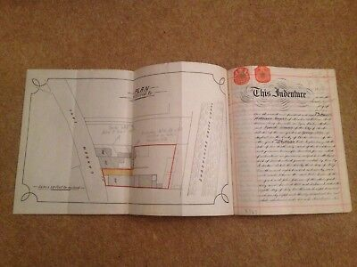 Indenture Document ~ Hereditaments And Premises In Garden Lane Chester 1908
