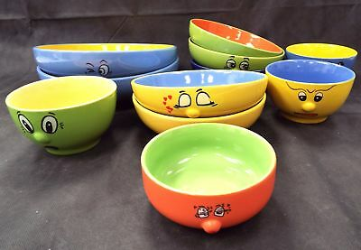 TRADE WINDS Tableware 11 Pieces Various Sized Bowls - L35