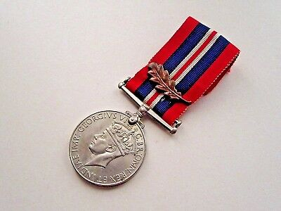 1939-1945 War Medal with Oak Leaf