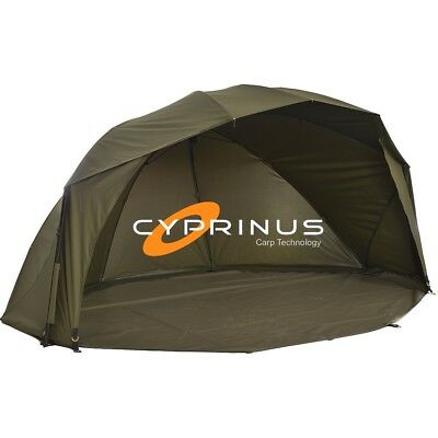 "Cyprinus Rapide MK2 55"" 20,000HH Carp Fishing Brolly Shelter Bivvy RRP £279.99"