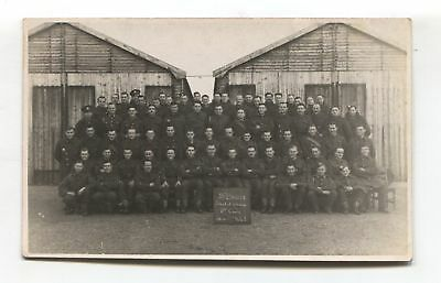 School of Wireless, 35th Brigade, 8th Course group photo - 1941 postcard