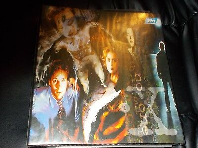X Files And X Men Topps Topps Trading Cards Huge Binder Full 100's Of Them