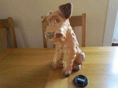 """SYLVAC LARGE TERRIER DOG No.1380. 11"""" HIGH IN EXCELLENT CONDITION."""
