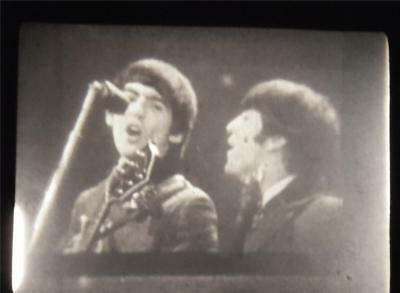 vintage 8mm BEATLES film First USA appearance newsreel by Pop Movies