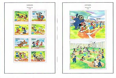Grenada - 1984/1986 Collection Of Sets/min Sheets Mint Never Hinged (12 Scans)