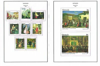 Grenada - 1992/1993 Collection Of Sets/min Sheets Mint Never Hinged (12 Scans)